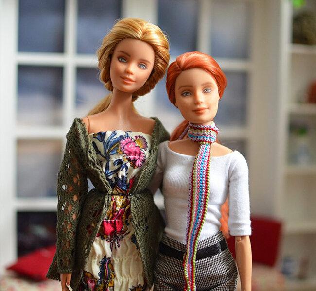 OOAK red hair mtm & festival barbie - Plastically Perfect - OOTD capsule wardrobe outfit 10 & 11 pic.jpg