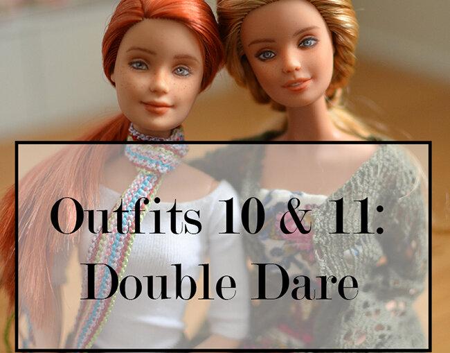 OOAK red hair mtm & festival barbie - Plastically Perfect - OOTD capsule wardrobe outfit 10 & 11 media pic.jpg