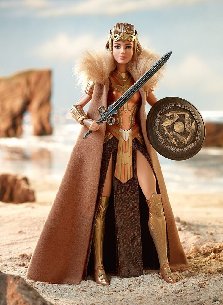 2017 Wonder Woman Antiope Barbie New IN STOCK NOW!