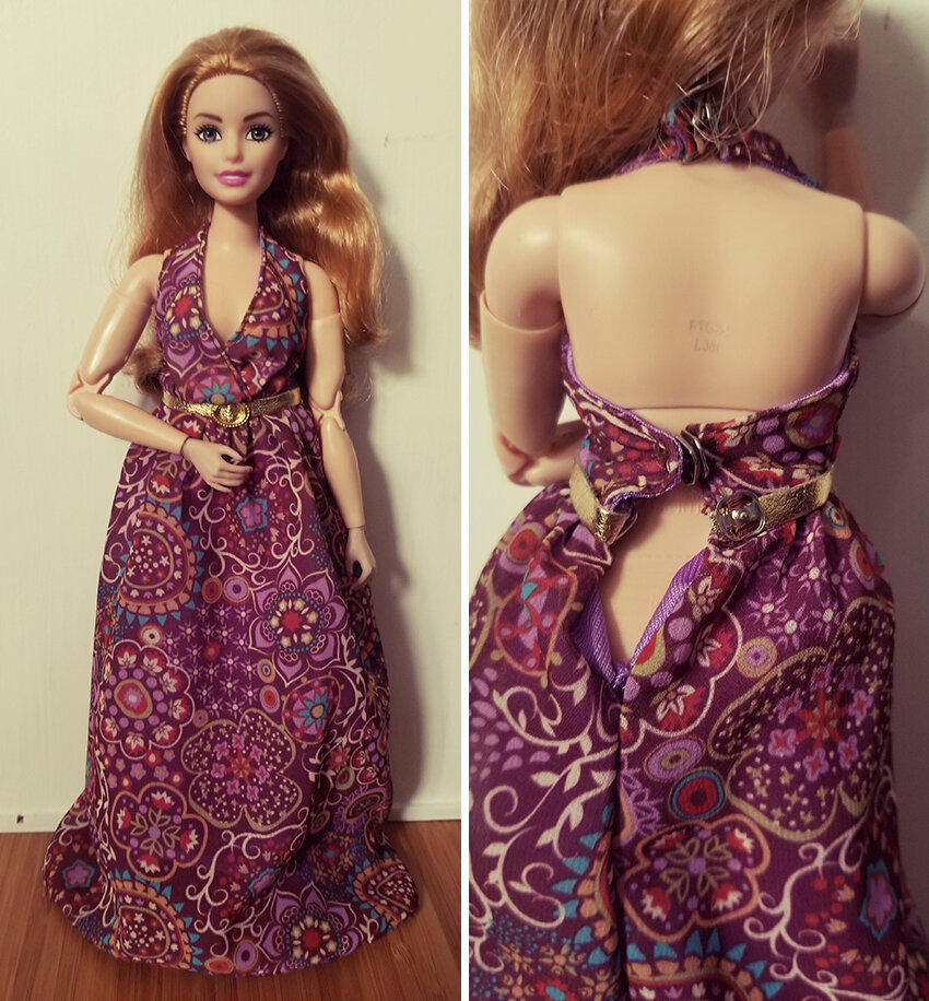 Plastically Perfect - Playscale Enthusiast Doll Review - Clothing Share - 2018 Strawberry Blonde Curvy Made to Move Barbie 02.jpg