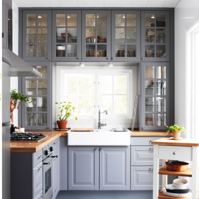 Ikea Kitchen inspiration, Playscale Furniture for Barbie - Plastically Perfect - Diorama 01.jpg