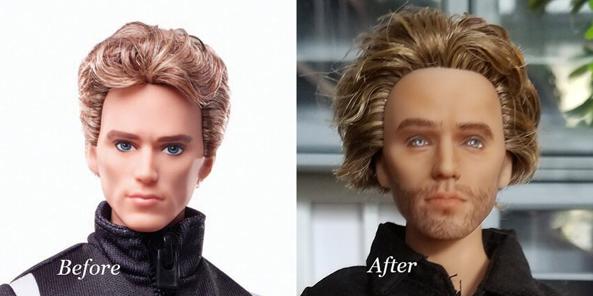 OOAK Finnick Odair Hunger Games Articulated Figure - Nicholai - Plastically Perfect - Before and After.jpg