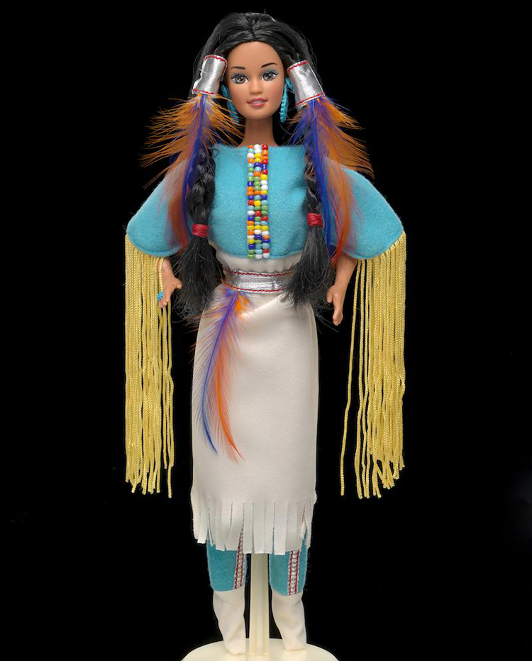 Nostalgic Dolls - My Favorite Childhood Barbie - Plastically Perfect - Native American Barbie 1994 Collector's Edition 01.jpg