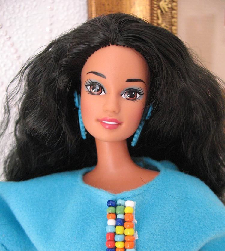 Nostalgic Dolls - My Favorite Childhood Barbie - Plastically Perfect - Native American Barbie 1994 Collector's Edition 02.jpg