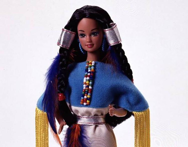 Nostalgic Dolls - My Favorite Childhood Barbie - Plastically Perfect - Native American Barbie 1994 Collector's Edition 03.jpg