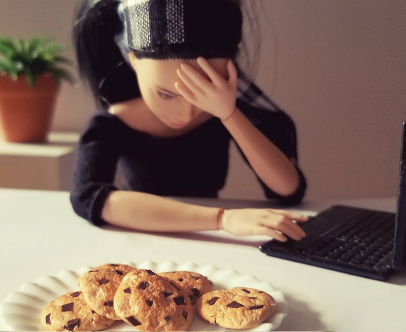 Cookie Catastrophe - Plastically Perfect - Barbie Playscale Diorama Food 03.jpg