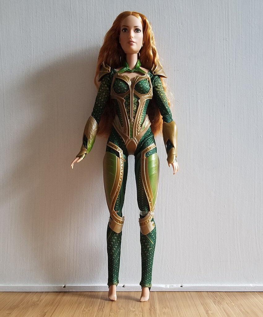 Plastically Perfect - Playscale Enthusiast Doll Review - 2017 Justice League Mera Barbie 02.jpg