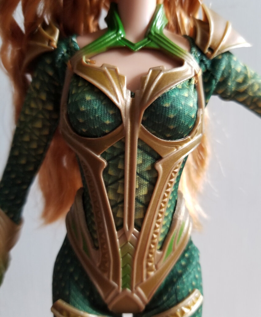 Plastically Perfect - Playscale Enthusiast Doll Review - 2017 Justice League Mera Barbie 04.jpg
