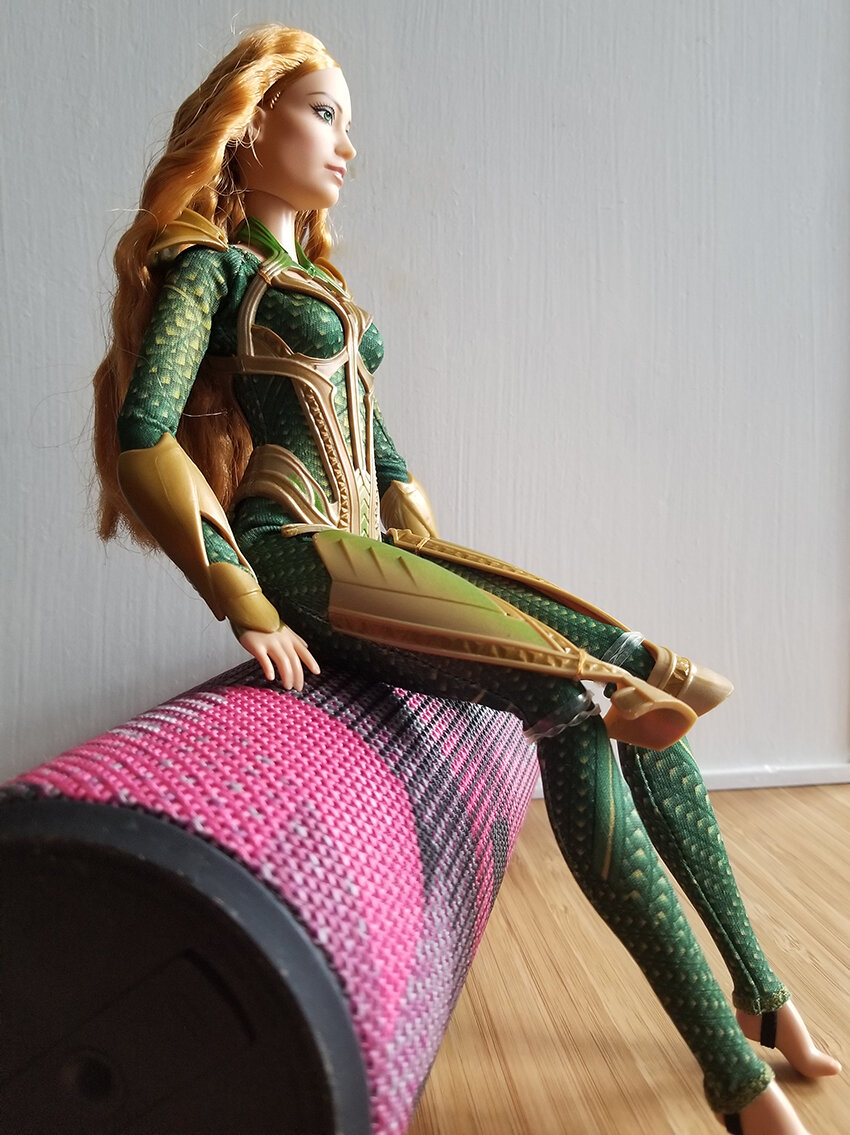 Plastically Perfect - Playscale Enthusiast Doll Review - 2017 Justice League Mera Barbie 09.jpg