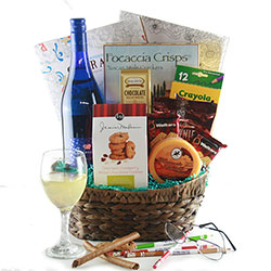 Gift Basket                             Gift Card                                Dinner                        Bottle of Wine                Life expectancy?  30 days                   Number of uses?  One          Tax deductibility?  $25 maximum