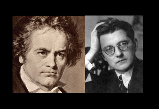 Beethoven and Shostakovich