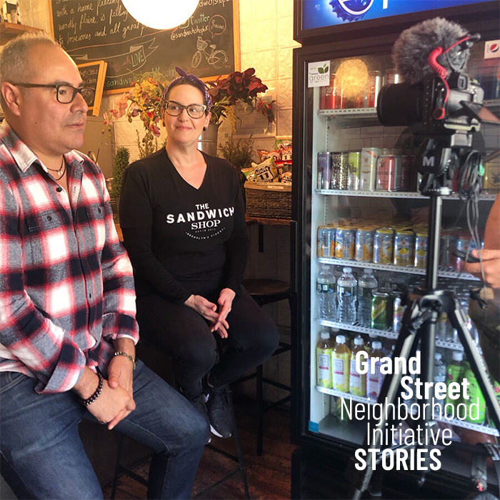 Stories - Through our newsletter, social media, documentaries, and blog, we share the news happening in our neighborhood to a network of 5,000+ followers. We focus on promoting our small businesses in order to create connections between our retail community and local residents.