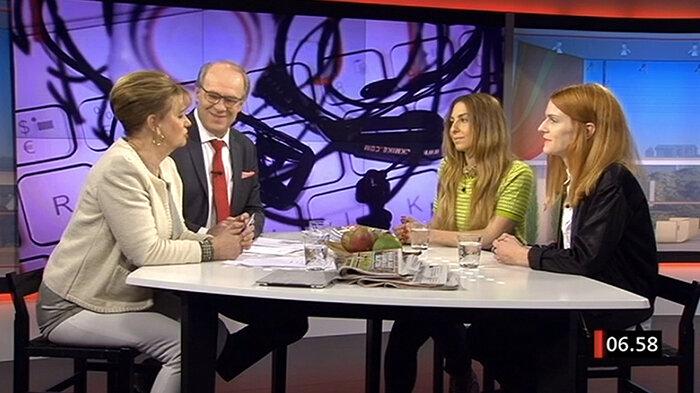 'App-date' on Good morning Sweden 2014