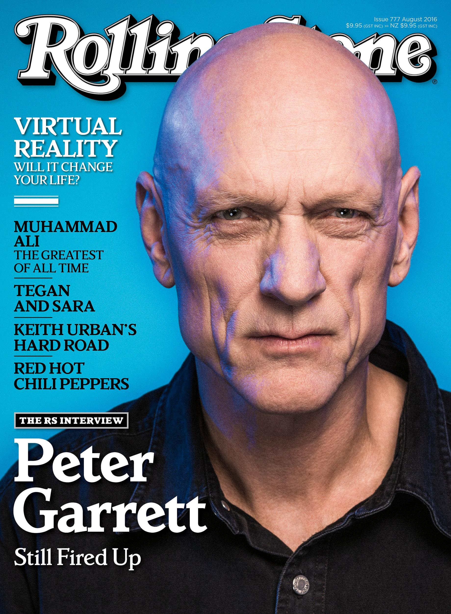 Peter Garrett - Rolling Stone Cover