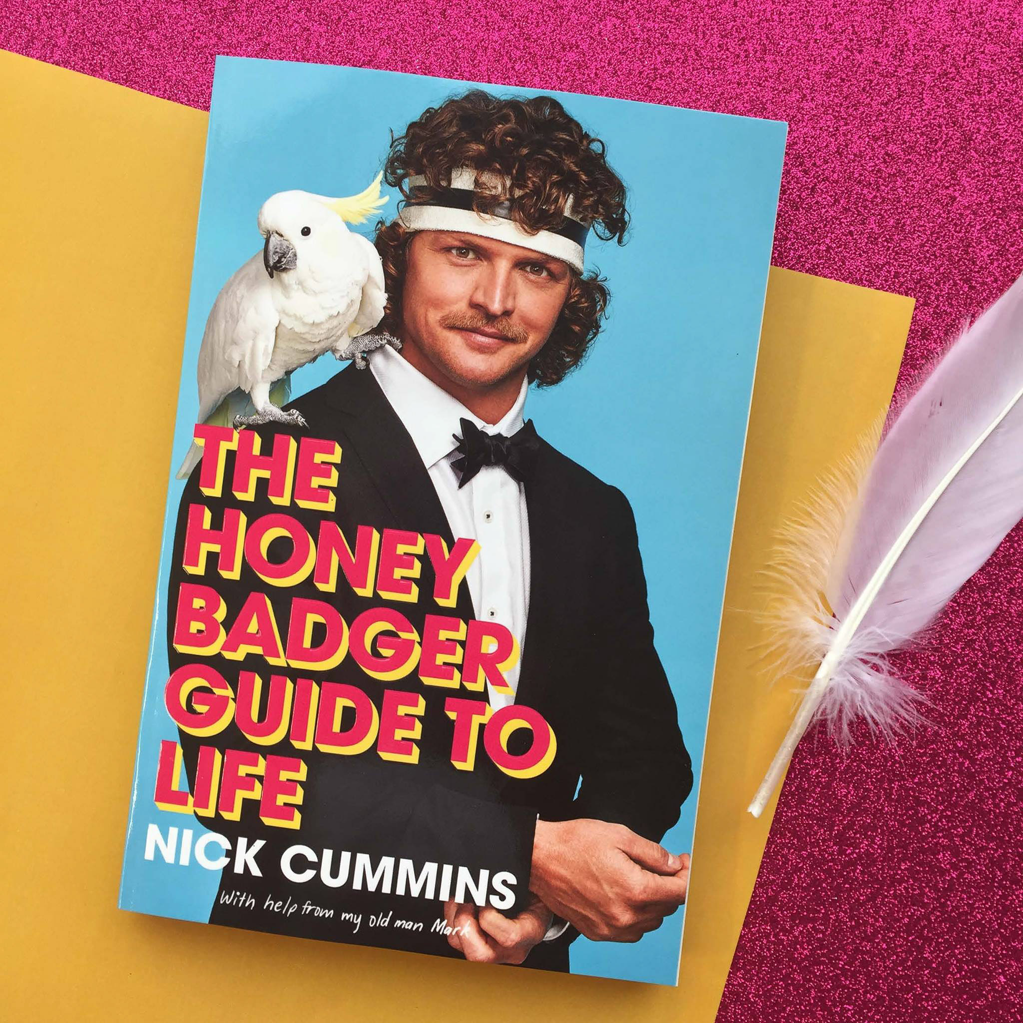The Honey Badger's Guide to Life - Book Cover