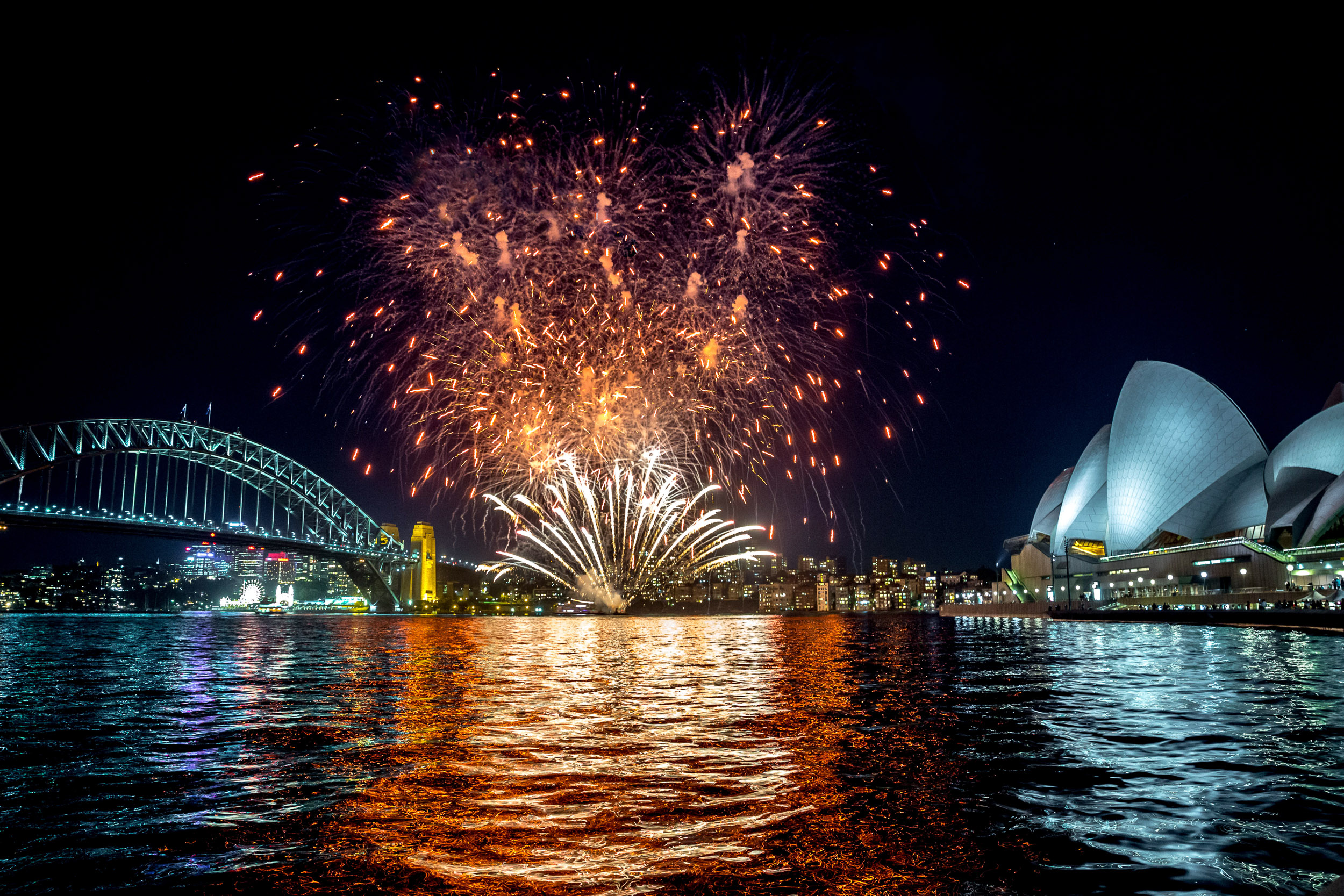 Sydney Harbour Fireworks - NBC Today Show broadcast