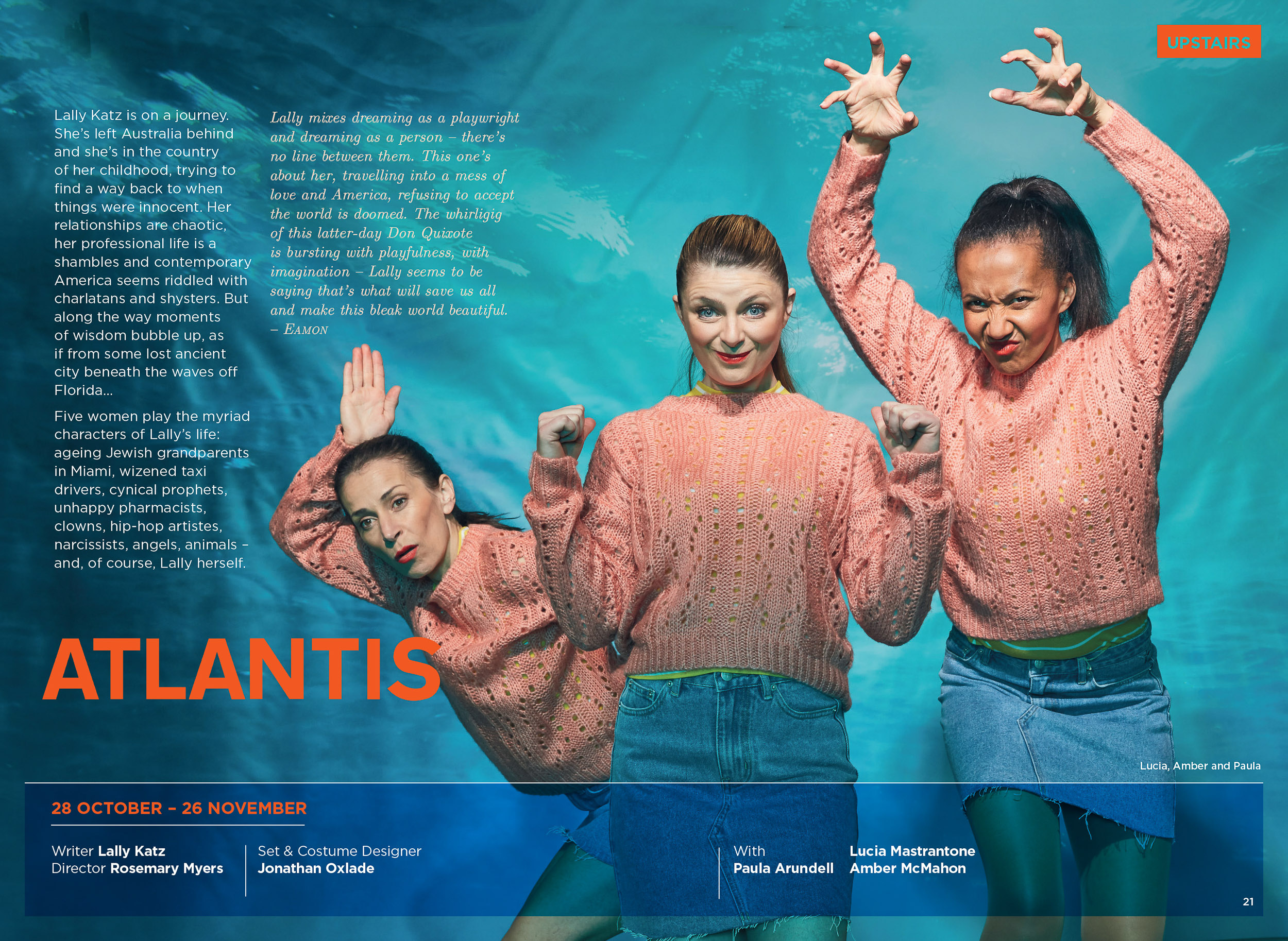 Atlantis Belvoir Theatre