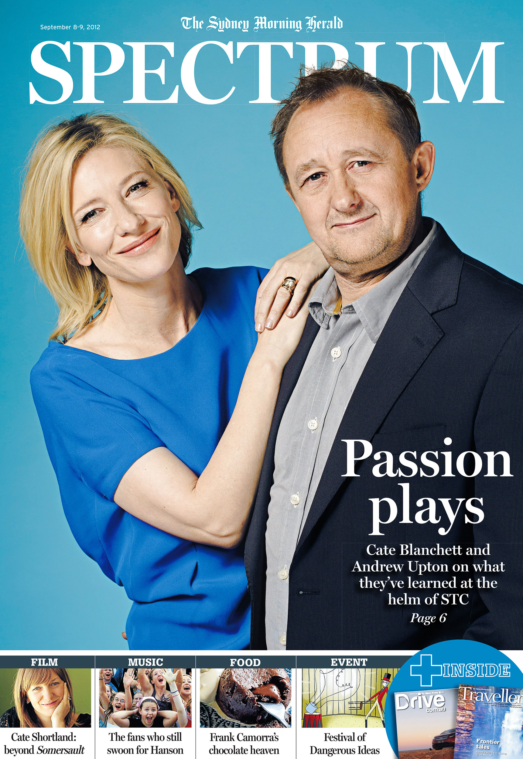 Cate Blanchett and Andrew Upton Spectrum Cover