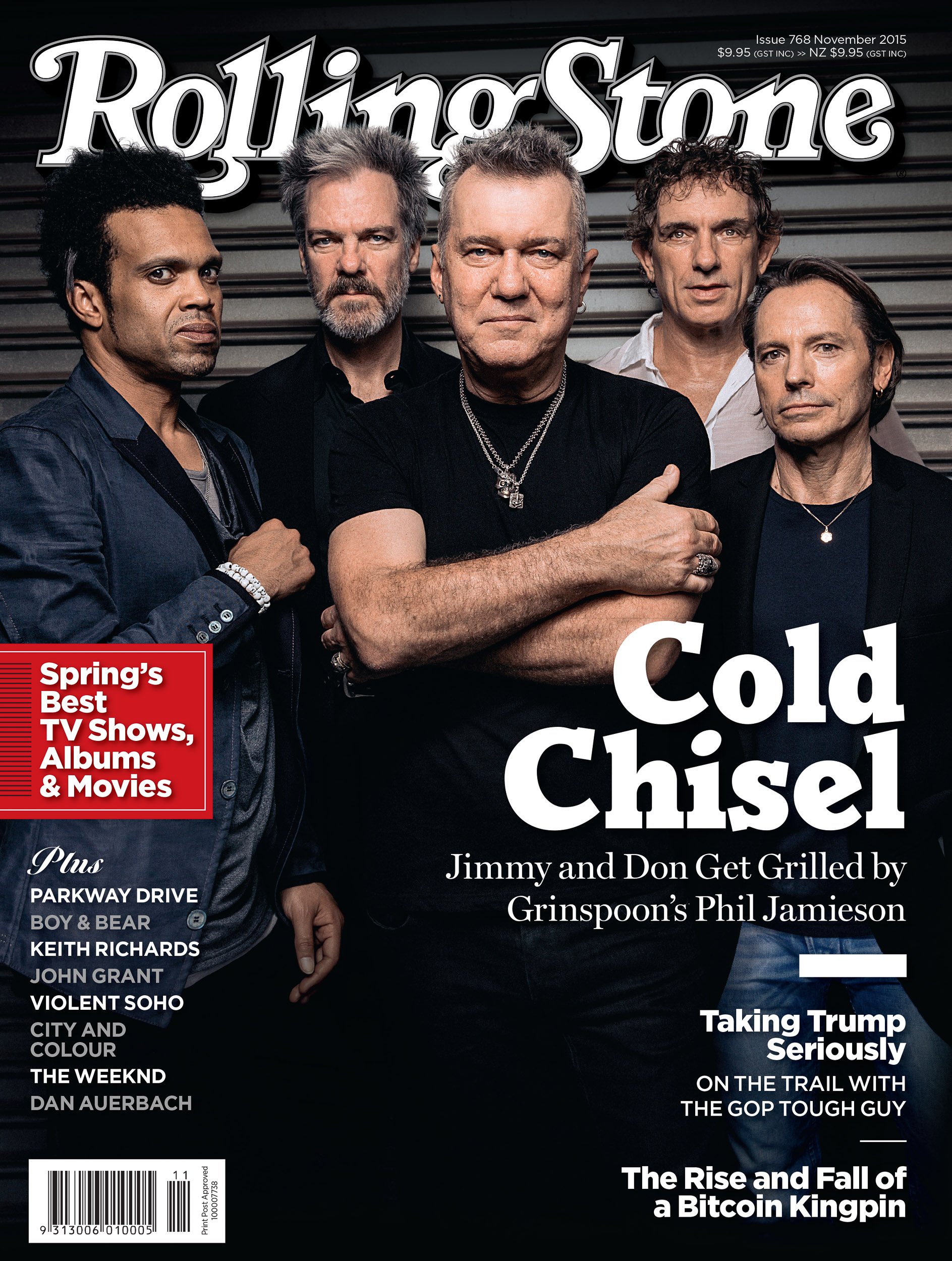 Cold Chisel Rolling Stone cover