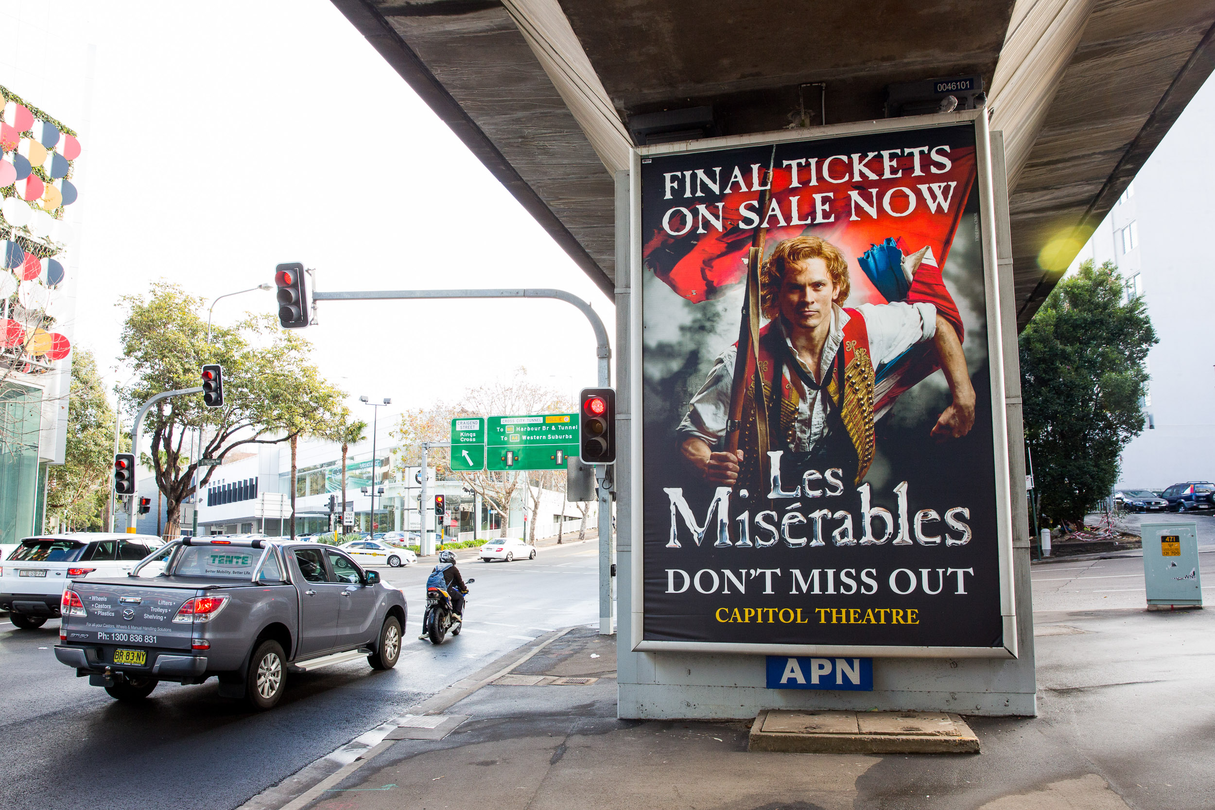 Les Miserables ad
