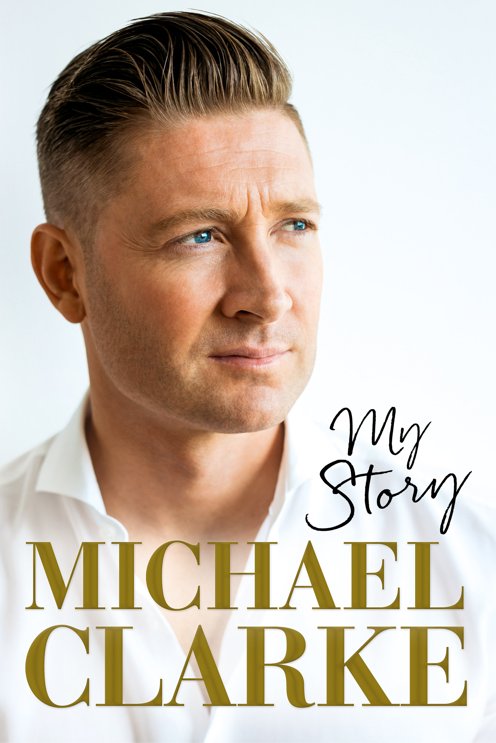 Michael Clarke Book Cover