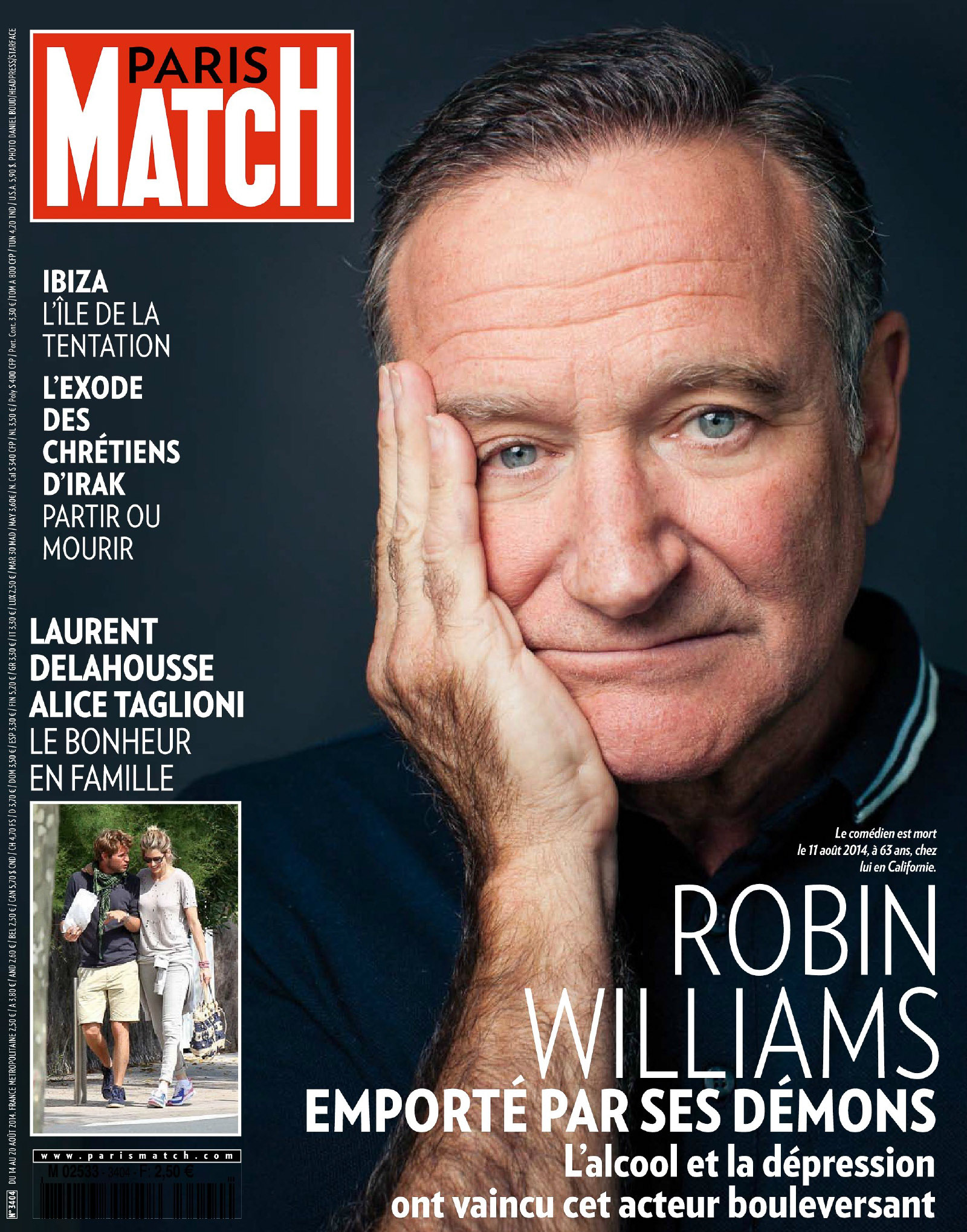 Robin Williams - Paris Match