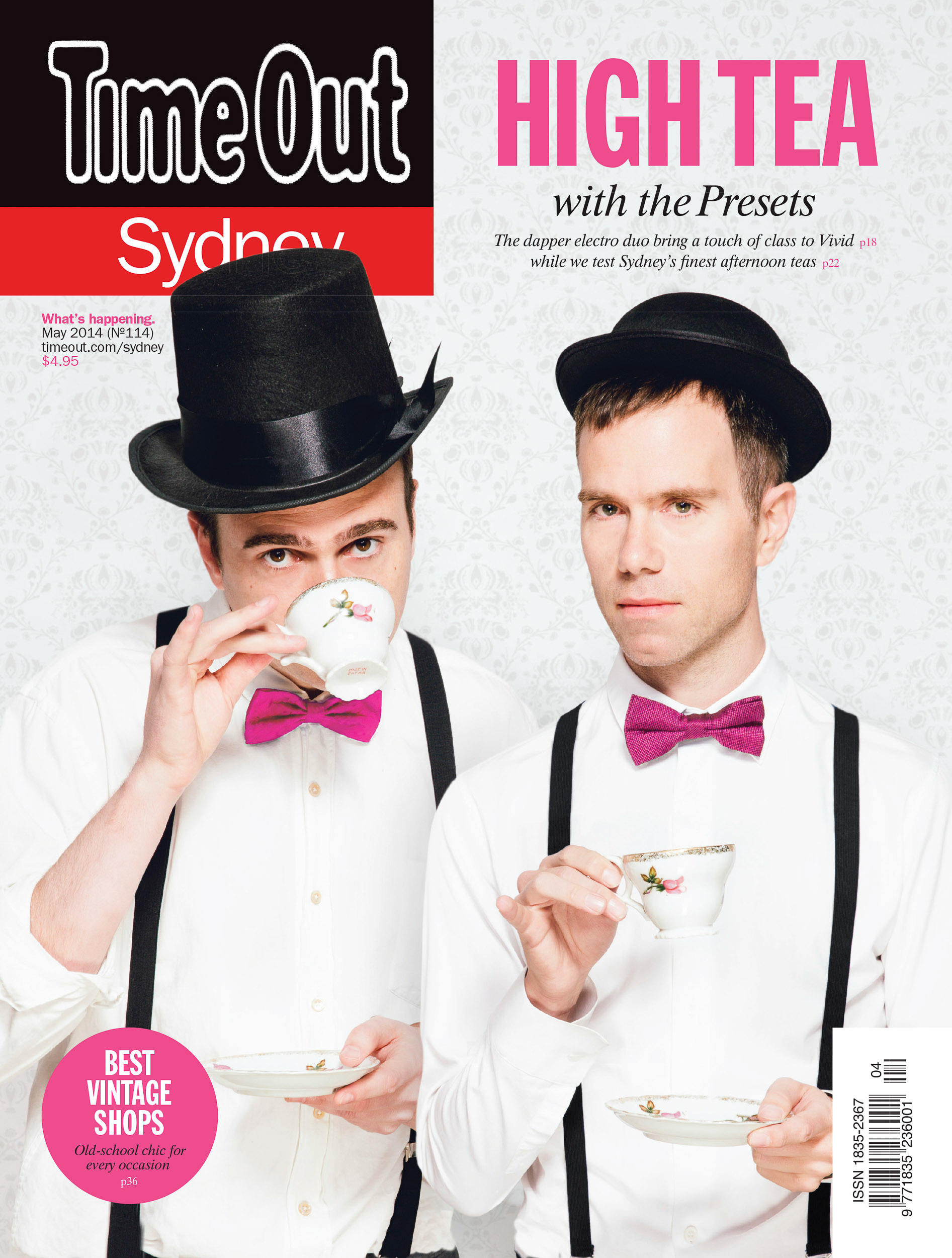 The Presets Time Out Cover