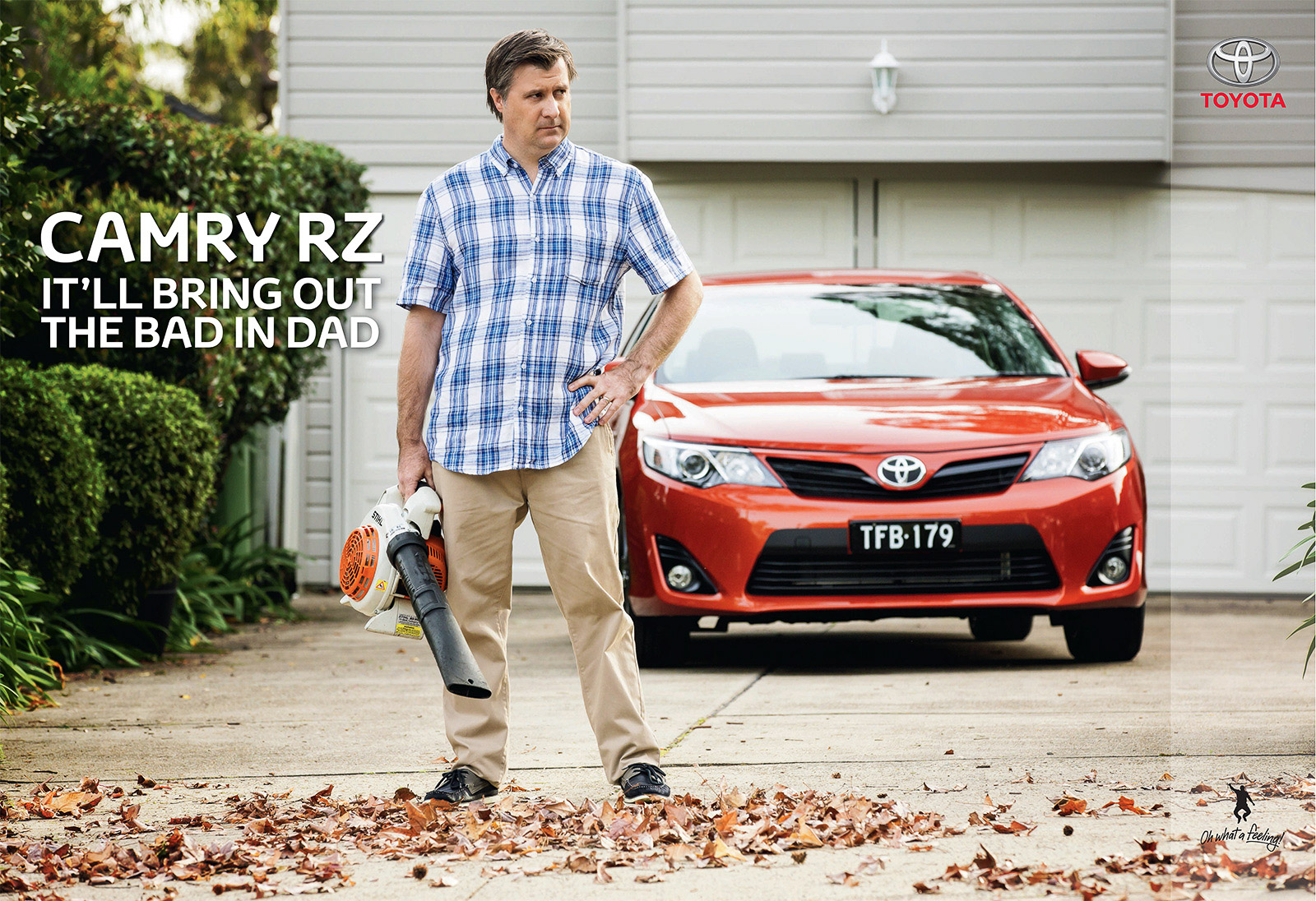 Toyota Camry Ad