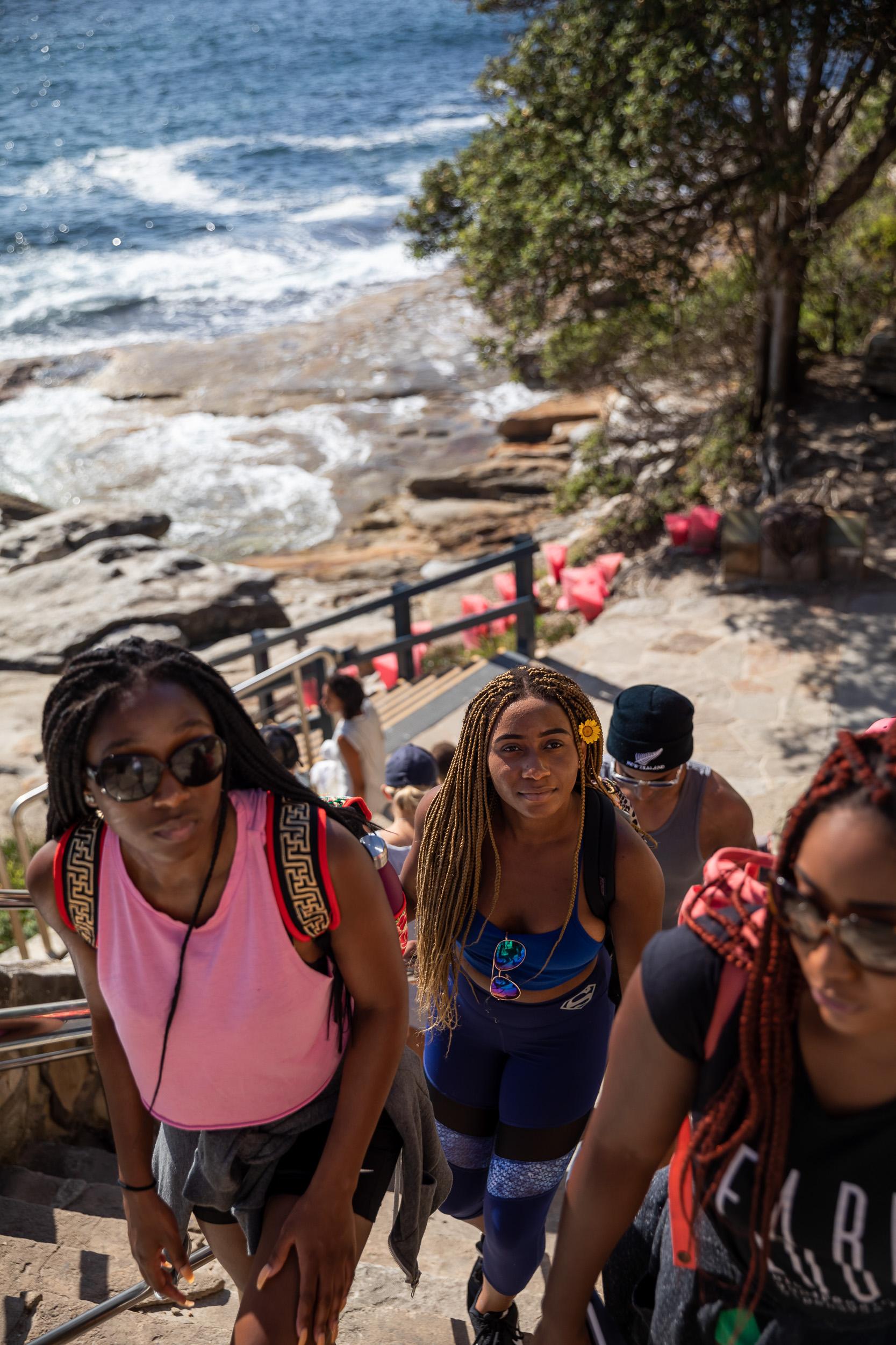 Freestyle - Bondi to Bronte coastal walk - NYU Sydney 2018