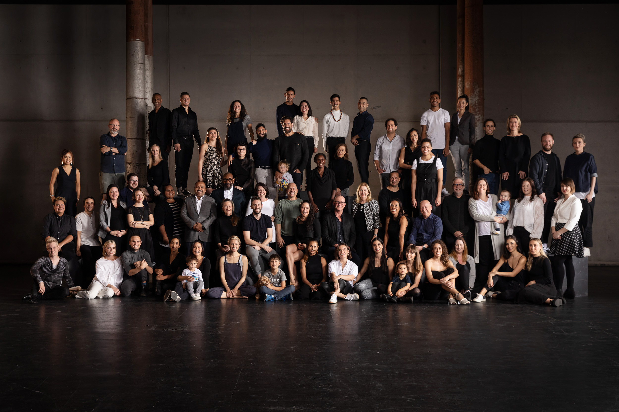 Bangarra Dance Theatre - Full Company Grorup Photo