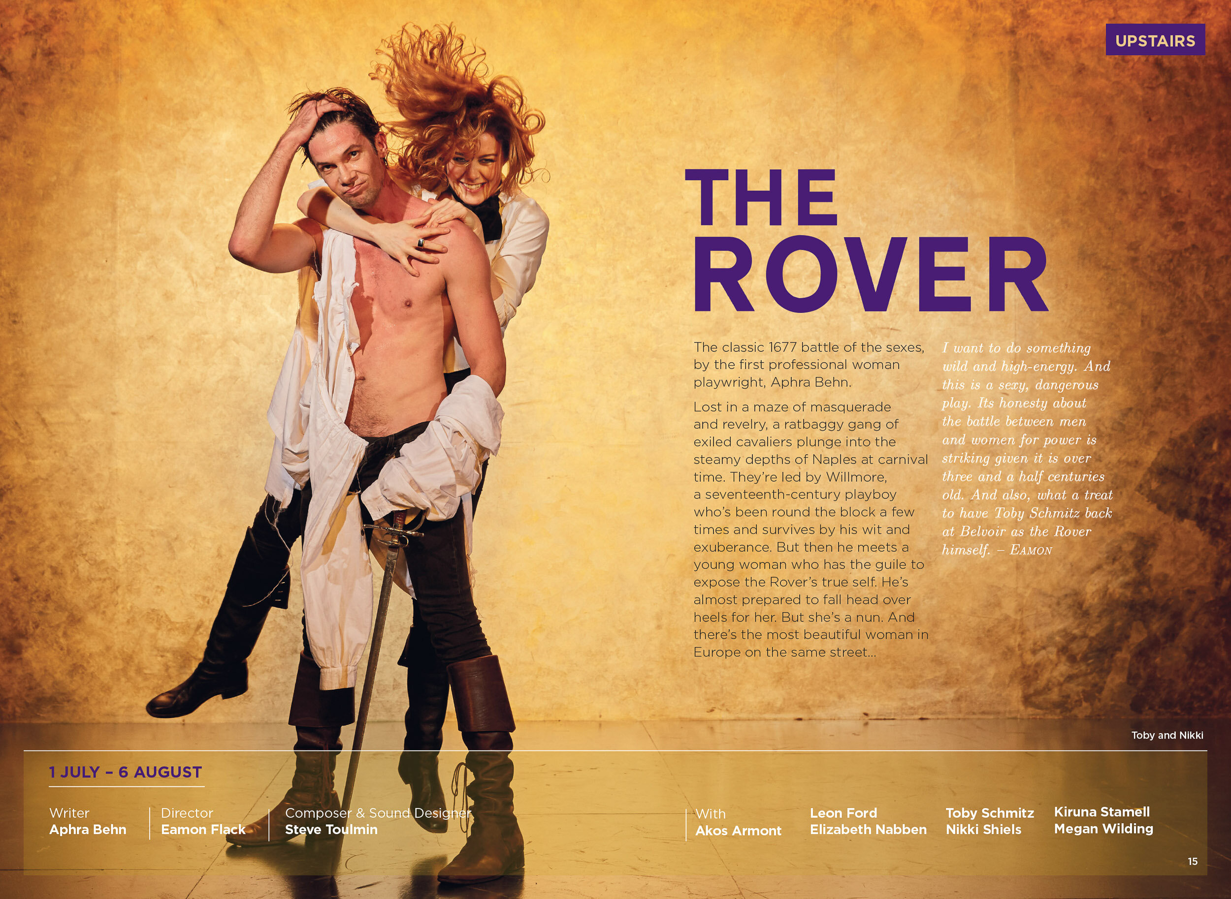 The Rover Belvoir Theatre