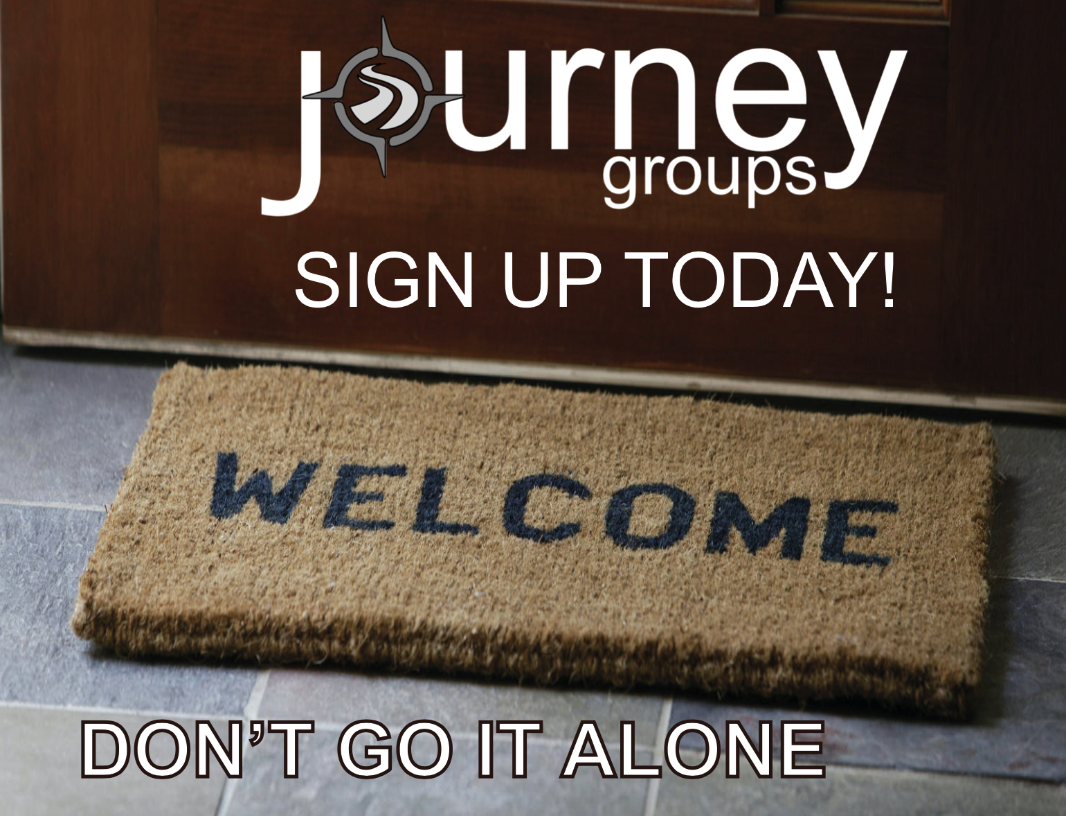 Journey Group Sign Up Begins Sunday! - Don't do life alone! Become part of a Journey Group. We have 17 new groups gathering during the month of November for a 4 week sermon based small group on different days, times and at different locations. Don't miss out on an opportunity to try out small groups. Come get signed up Sunday.