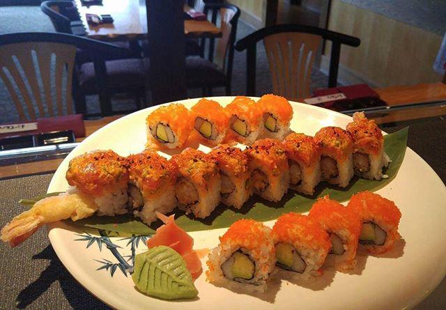 Come in and enjoy some sushi @ Kabuki tonight