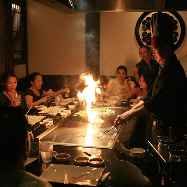 Rainy day out? Come enjoy our teppanyaki grill with some fresh veggies and fried rice with our teryaki chicken or steak and seafoods!