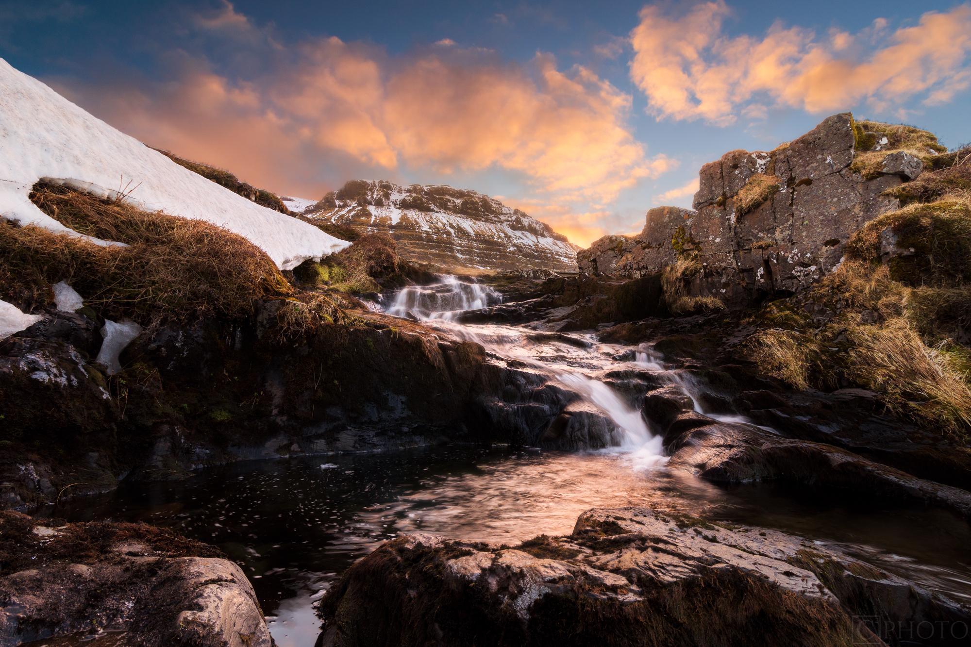 The Waterfalls of Kirkjufell