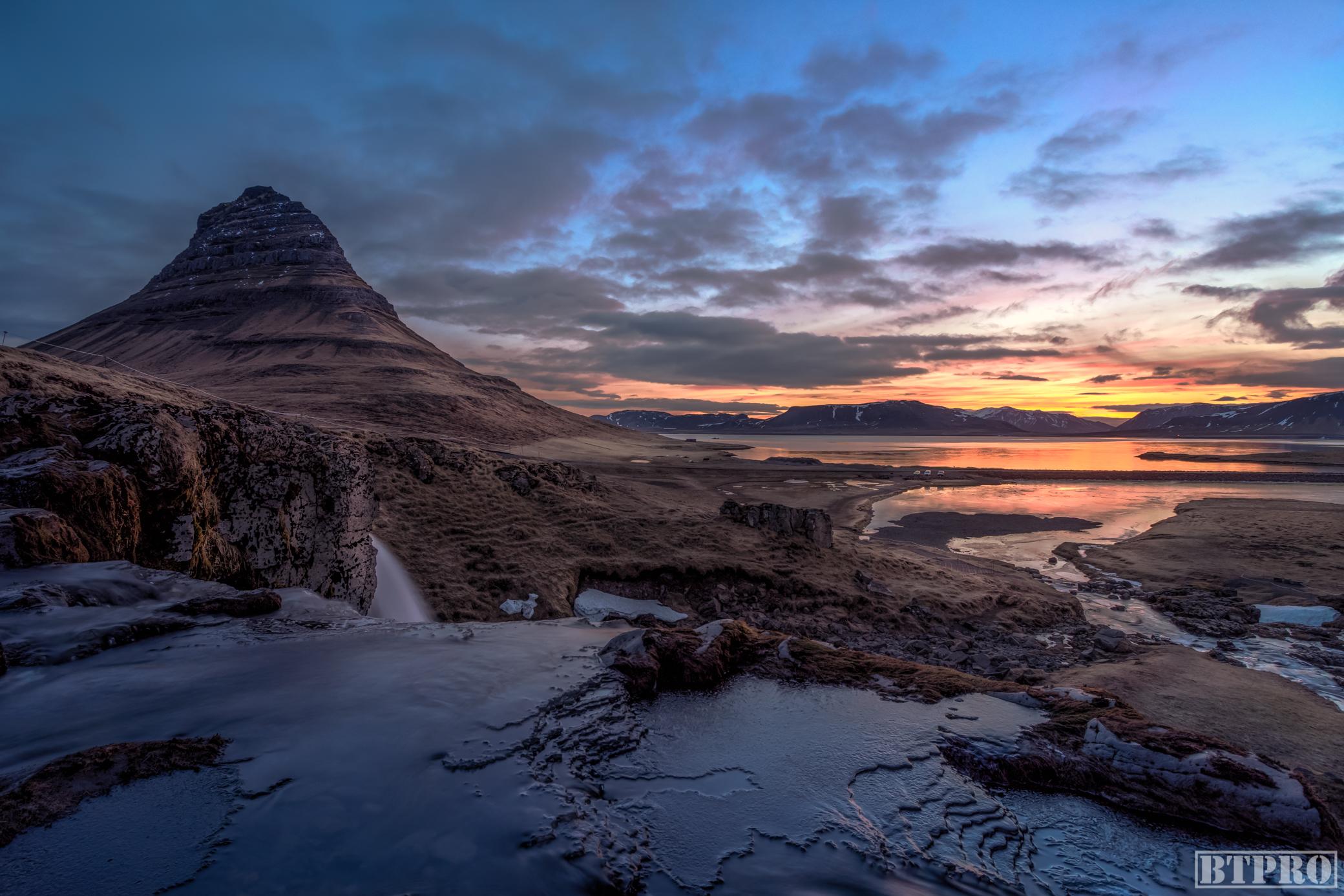 Kirkjufell at Sunrise