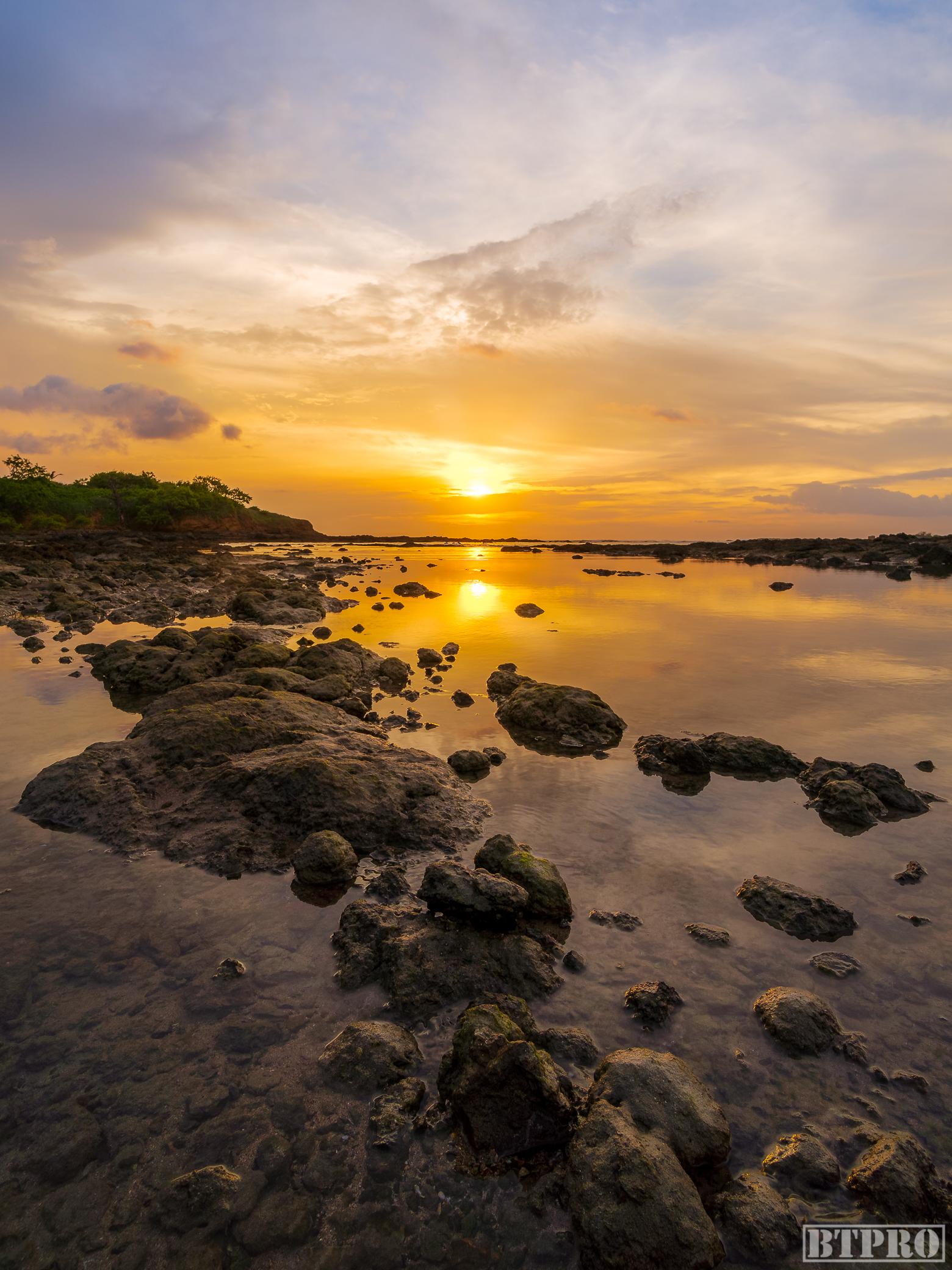 Day 2 Sunset at Tamarindo Tidepools