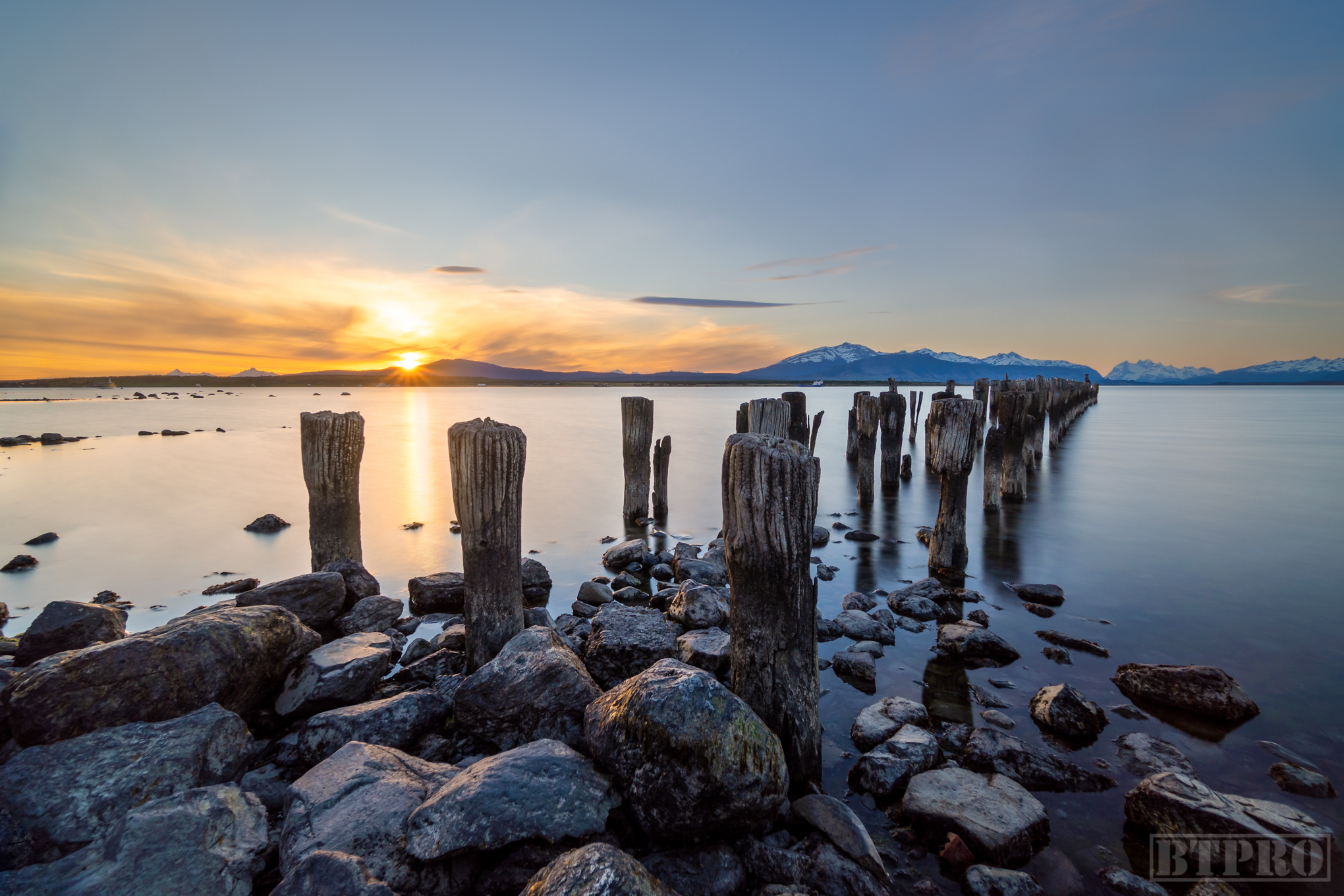 Abandoned Pier at Puerto Natales