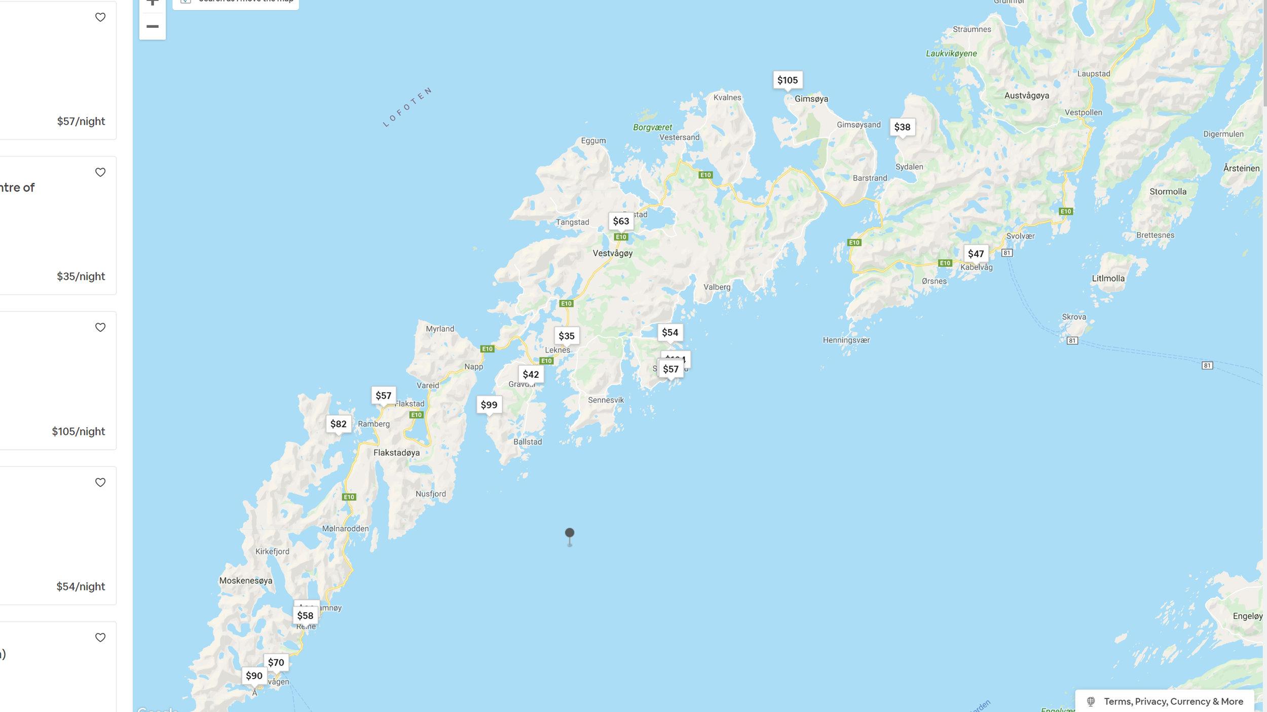 Air Bnbs in Lofoten