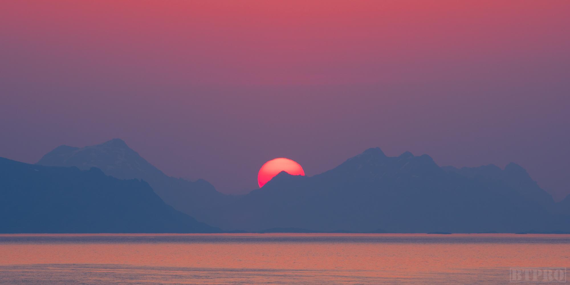Sunrise in the Lofoten Islands