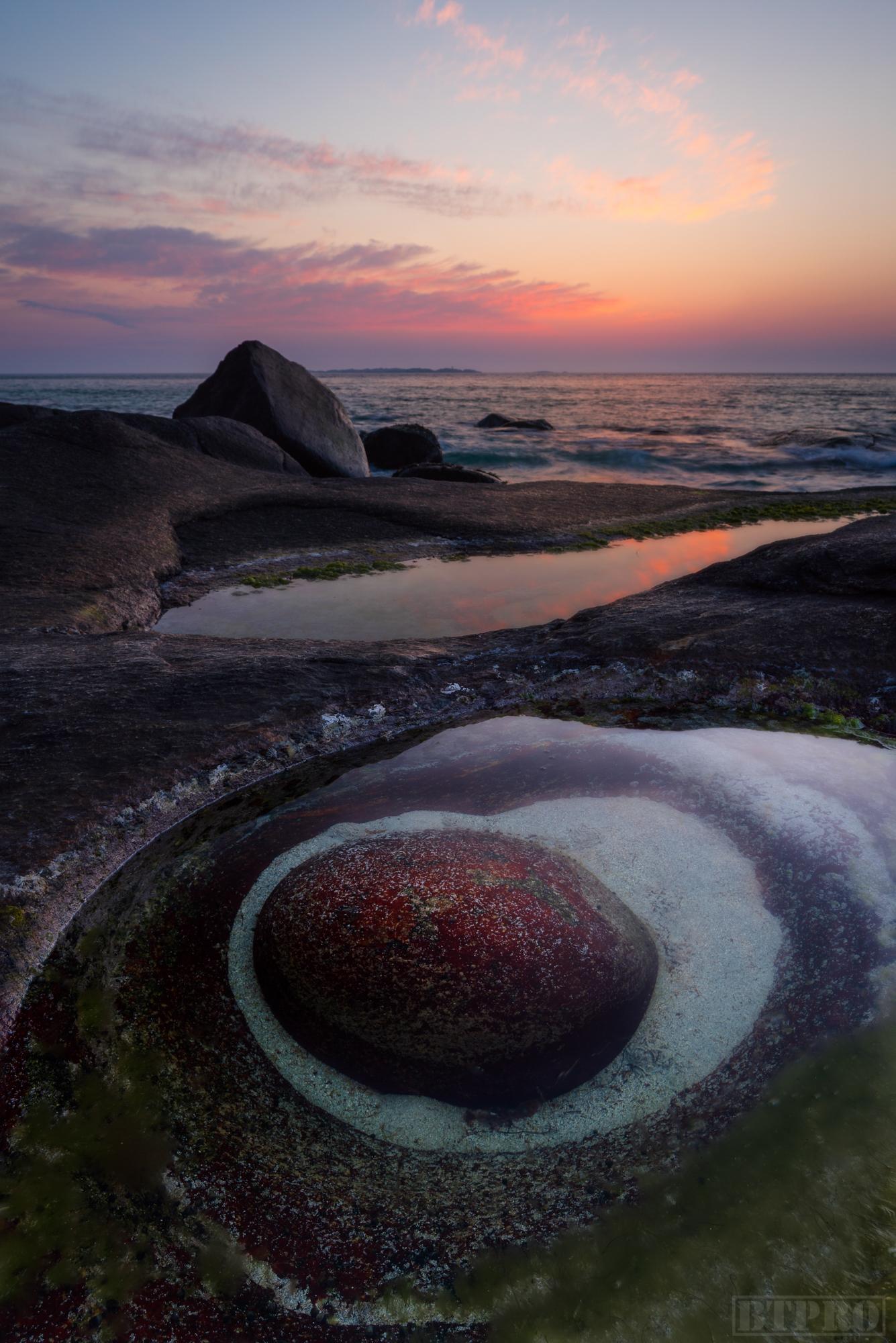 Dragon's Eye at Sunset