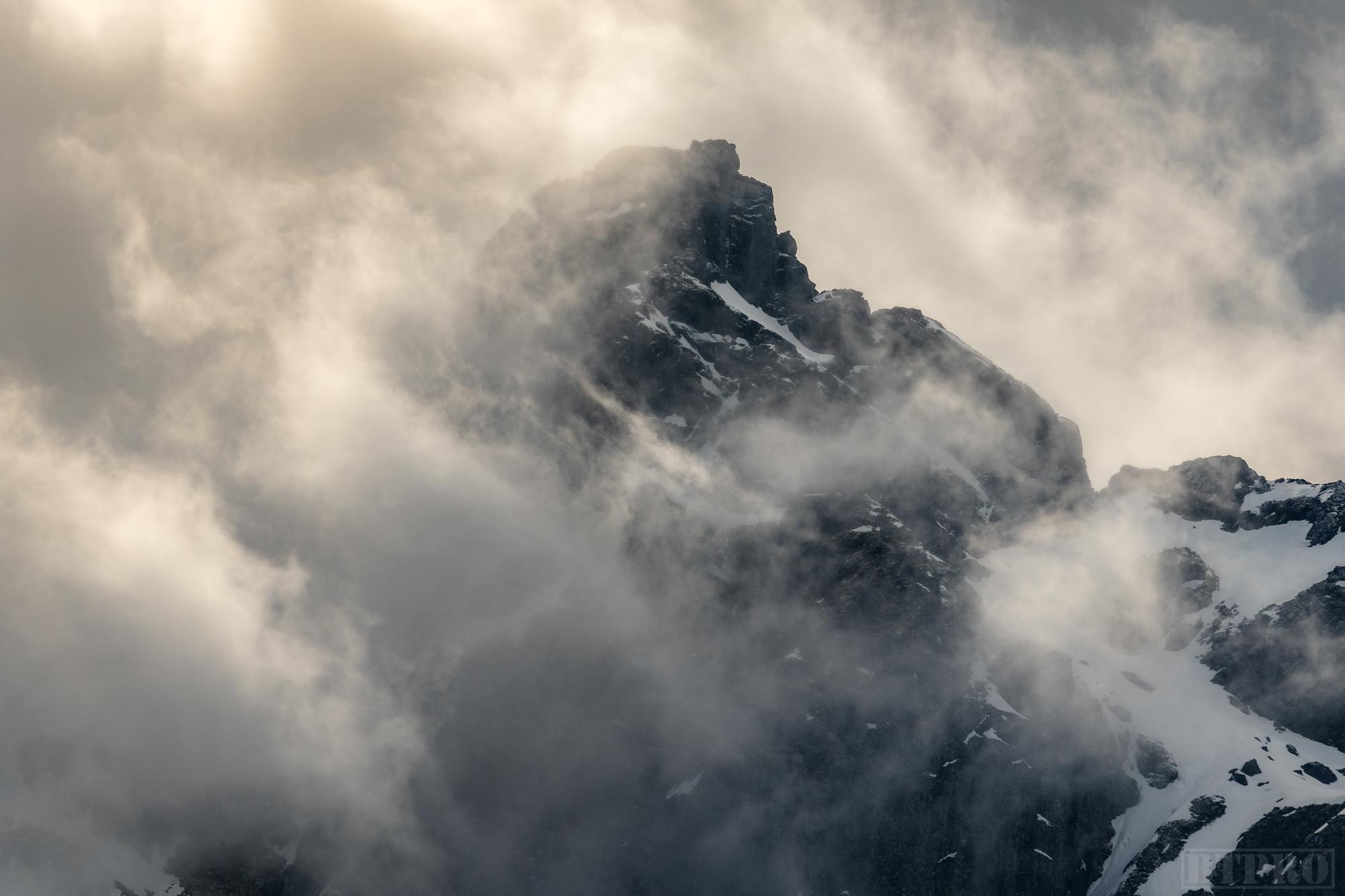 Mountain Peaks in Lofoten