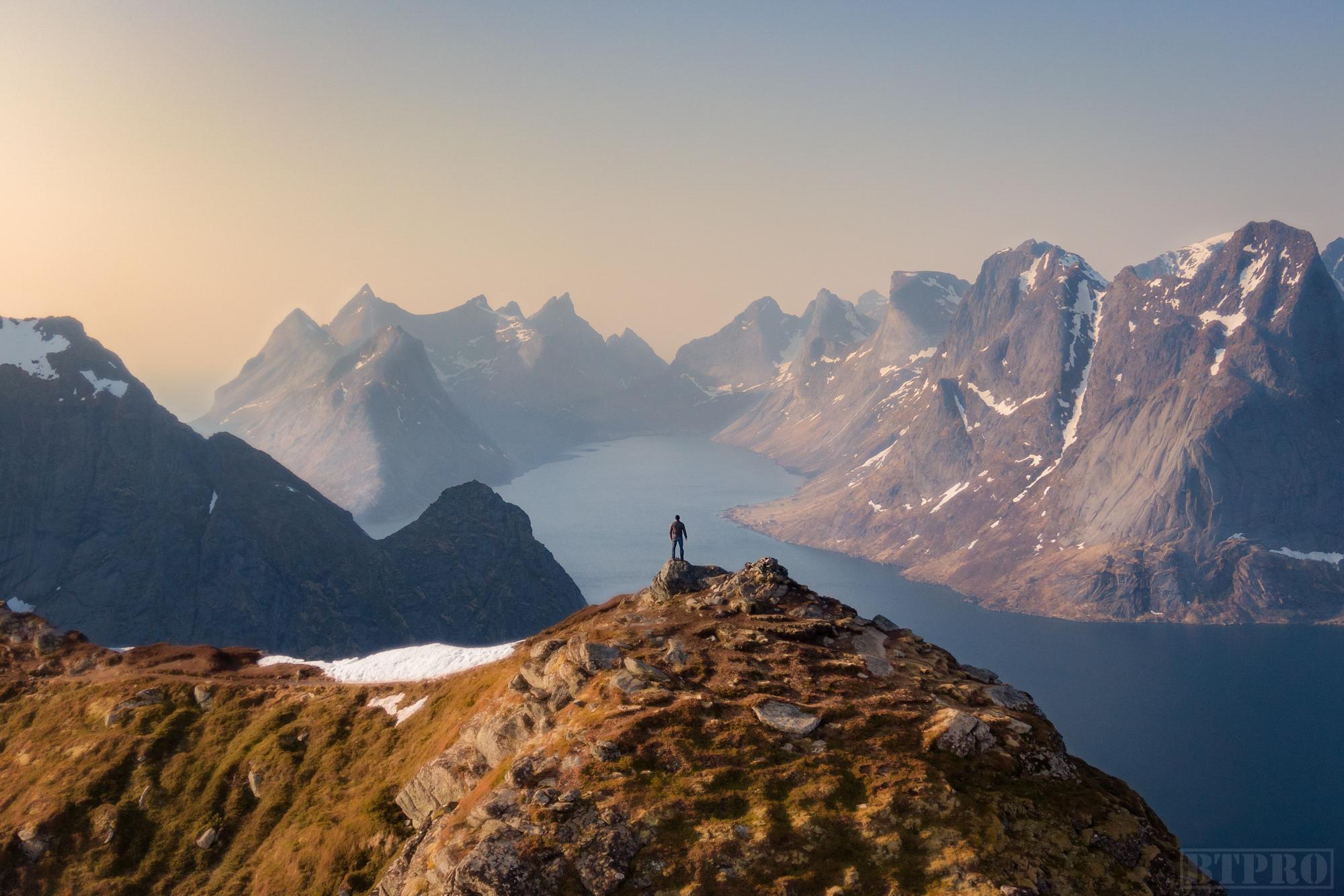 Summit at Reinebringen Hike