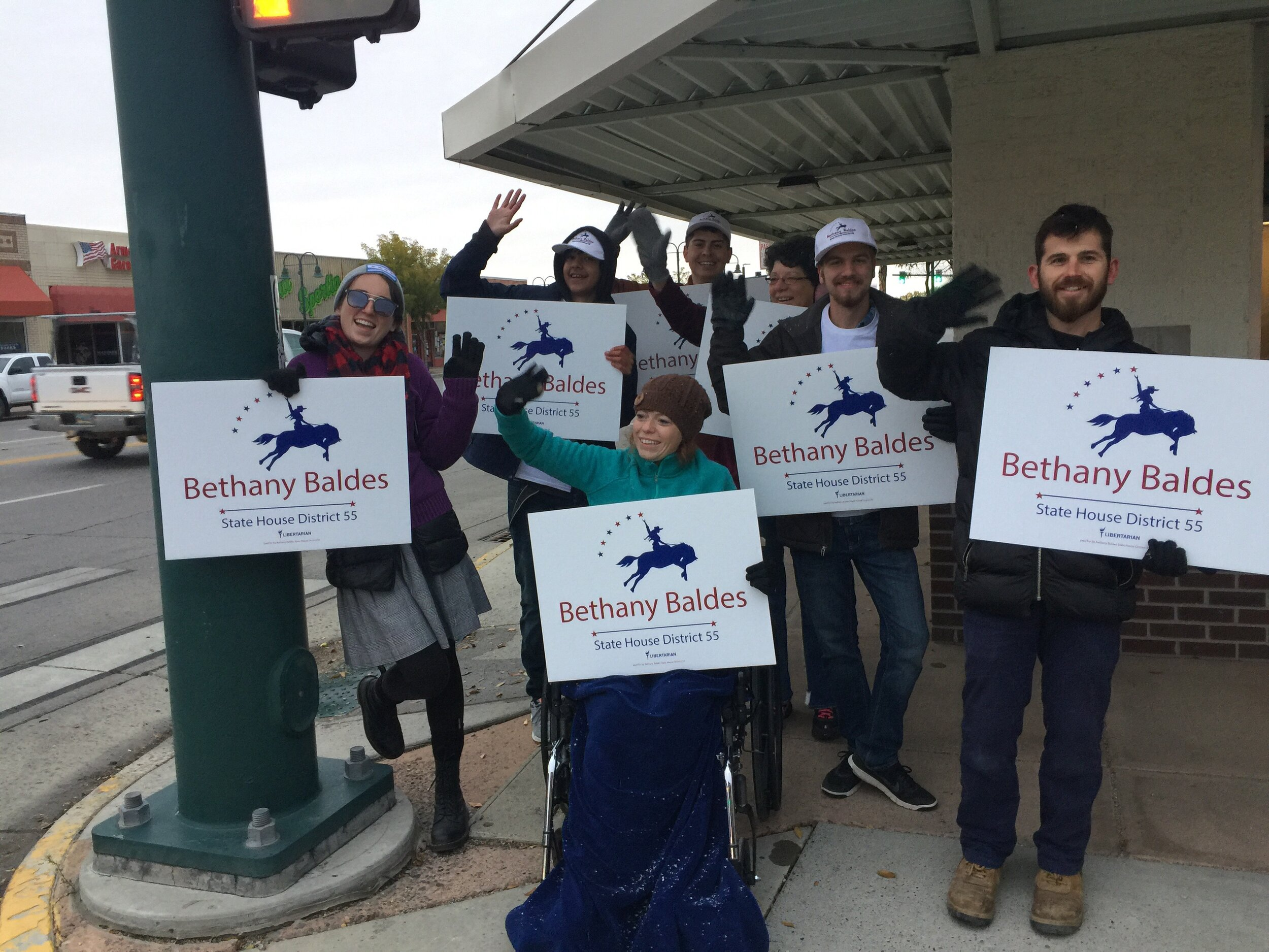 2019 Canvassing - The fall is upon us that means it is time to canvass! LFP will be sending canvassers out to select district for the month of October. If you are interested in applying to become a canvasser, click on the link and let us know. If you want to sponsor a canvasser and help get Libertarian elected you can donate HERE