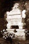 Sarcophagus Holding Mahatma Gandhi's Ashes