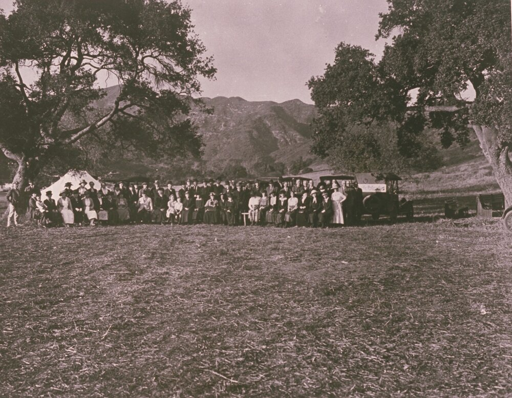 Founding Day of Pacific Palisades, January 12, 1922  Zola Clearwater Collection