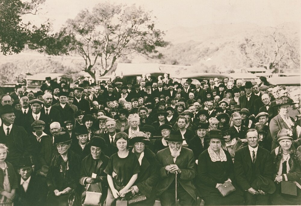 Founding Day of Pacific Palisades, January 14, 1922  Zola Clearwater Collection
