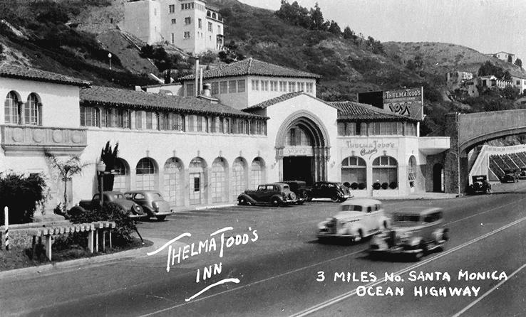Thelma Todd's Sidewalk Café 1928