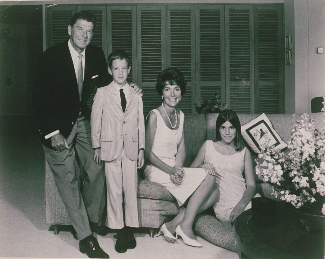 Ronald Reagan Residence 1956