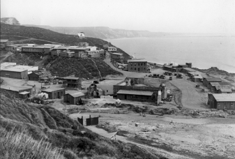 Before the founding of the Pacific Palisades, there was Inceville, a tiny film colony by the sea in Santa Ynez Canyon. It was here at Ince's studio-ranch where modern cinema was pioneered.